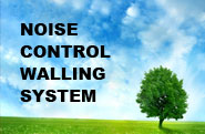 NOISE CONTROL WALLING SYSTEM